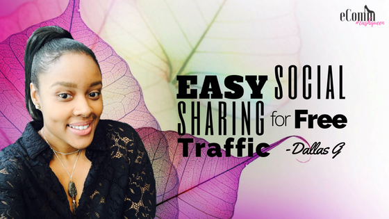 Easy Social Sharing for Free Traffic