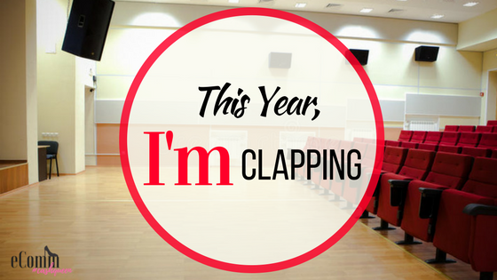 This Year, I'm Clapping