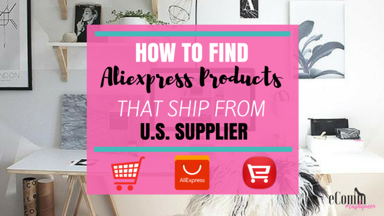 Find Aliexpress Products that Ship From U.S. Supplier