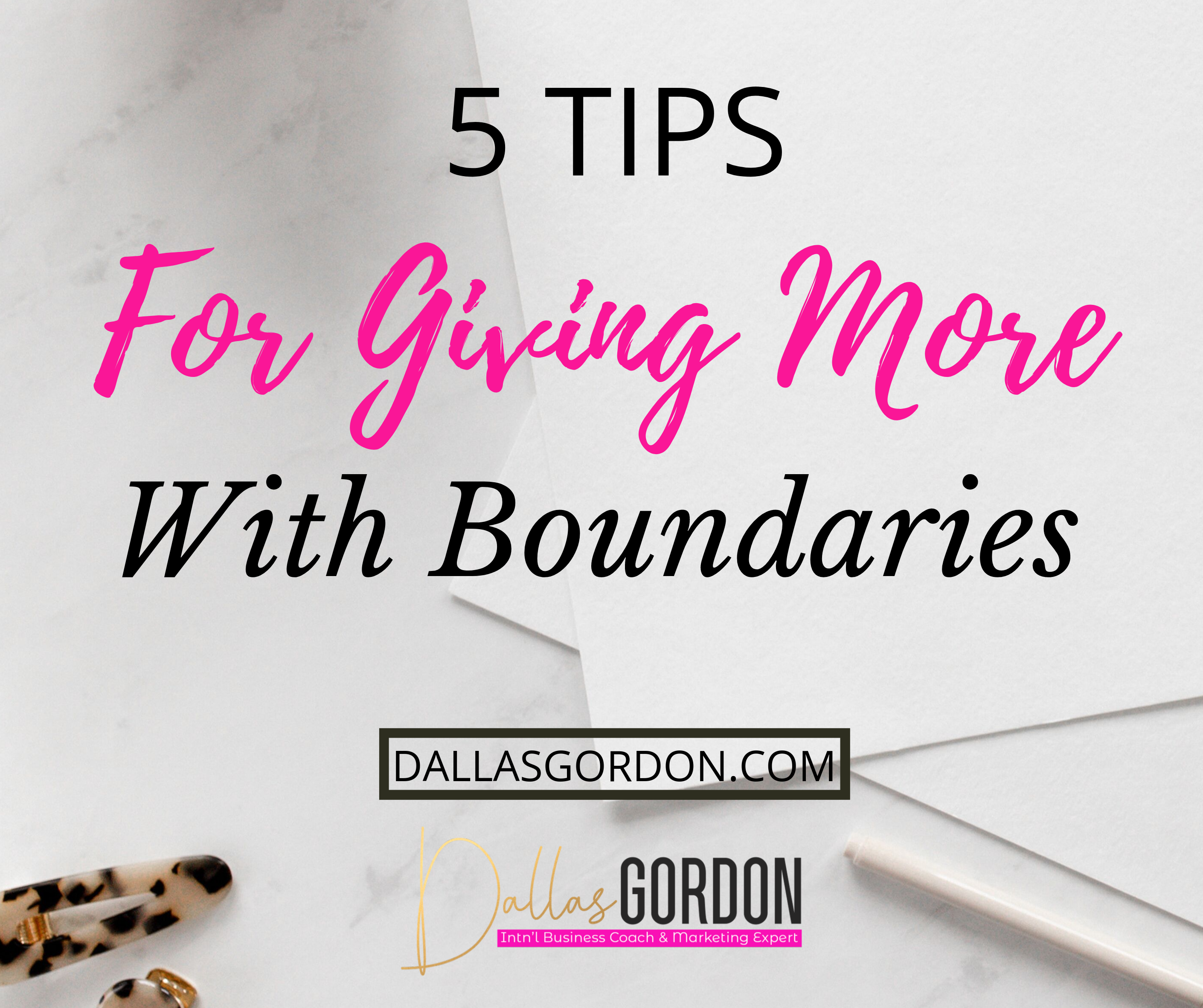 How to Give More While Maintaining Boundaries