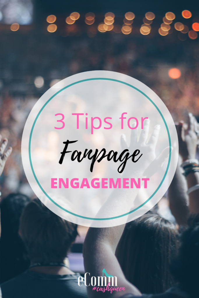 tips to increase engagement on your fan page