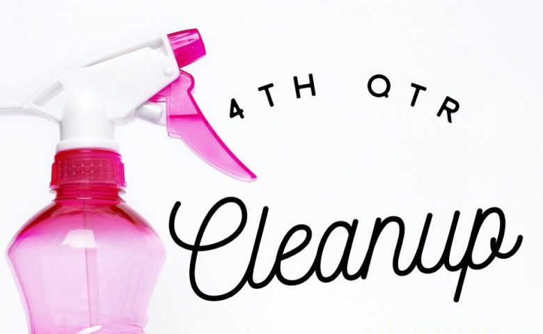 4th QTR Preparation and Cleanup for Online Stores - Year-End Store Maintenance