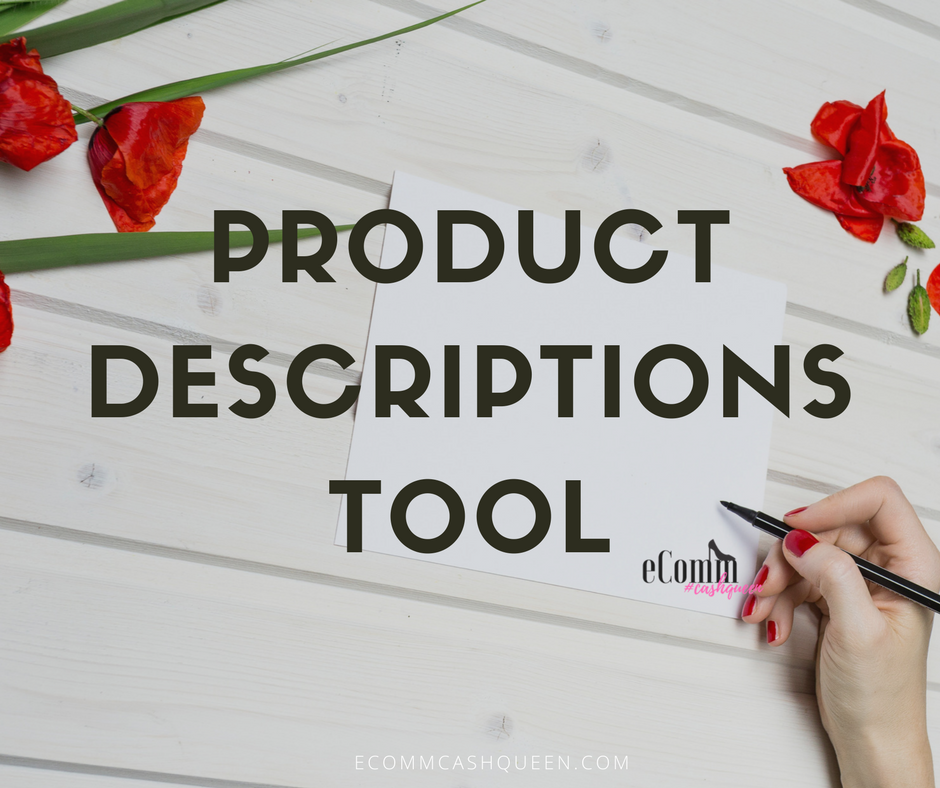 What's a Good Tool for Product Descriptions that Sell Online Effectively?