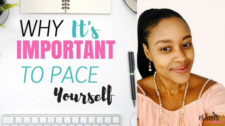 Why You Should Pace Yourself to Improve Productivity