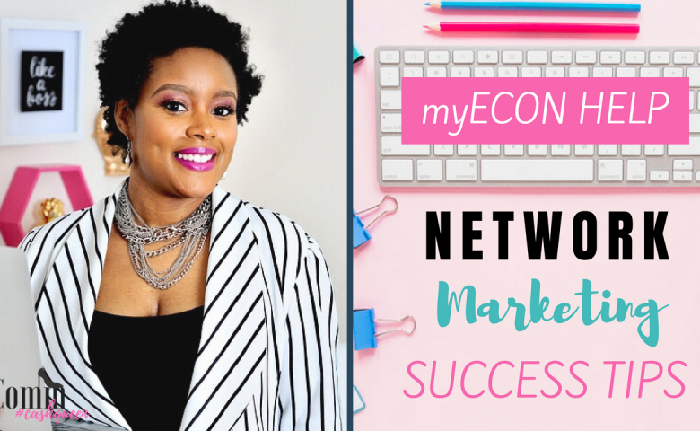 Network Marketing Success Tips. myECON Help