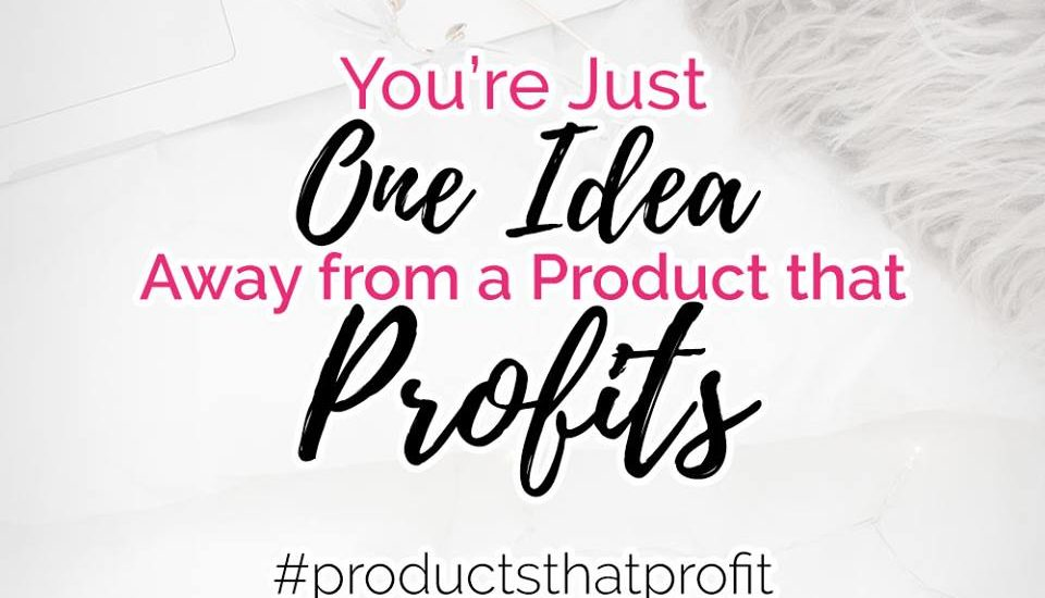 How One Product Idea Can Increase Your Online Business Profits / products