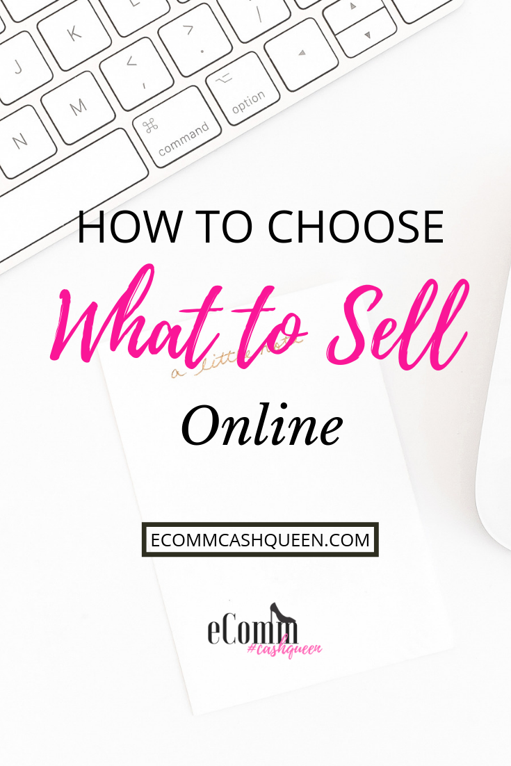 How to Choose What to Sell Online